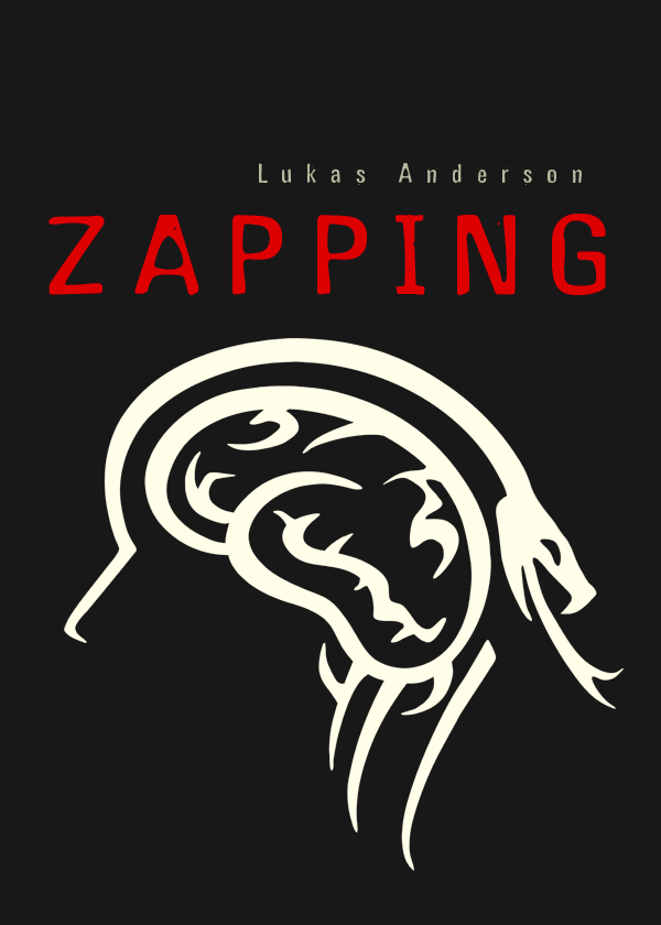 "Entwurf Buchcover ""Zapping"""